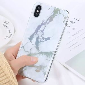 Accessories - NEW iPhone 7+/8+/6+/6s+ White Marble Glossy Case
